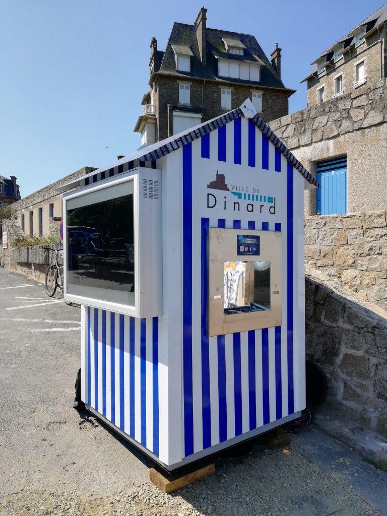 Installation de trois nouvelles fontaines à eau à Dinard par Fontaineo