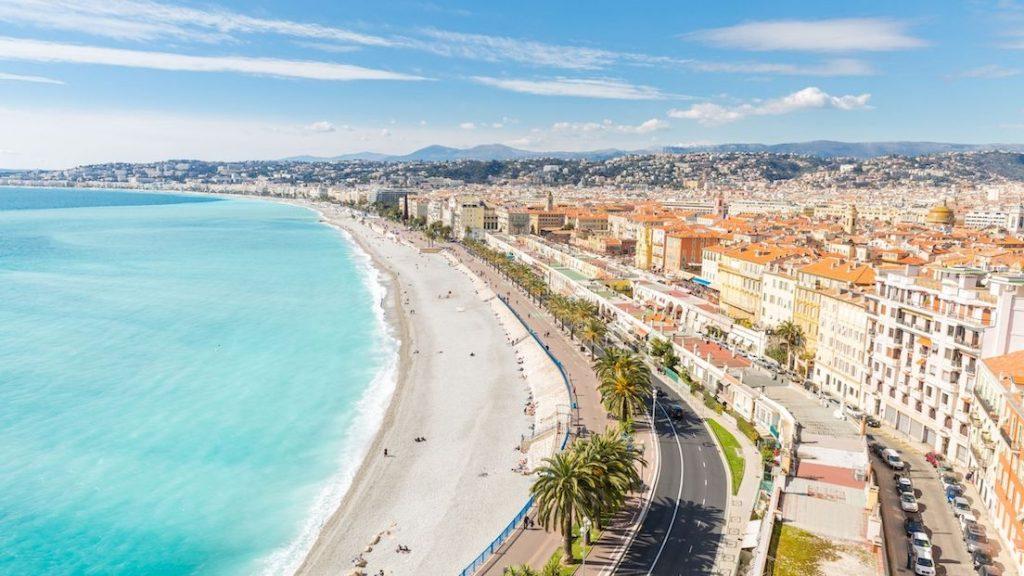 Vue de la ville de Nice